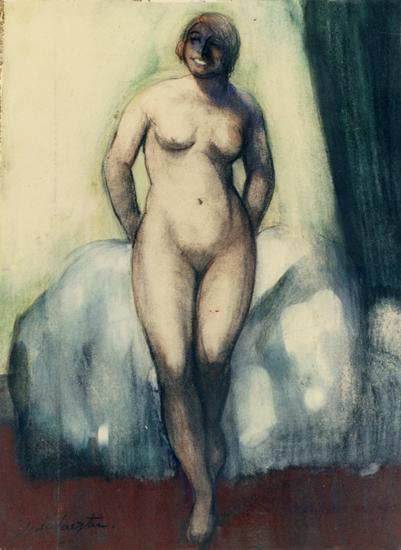 Flora. Desnudo