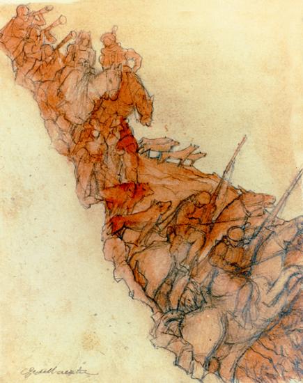 Cacería Vasca. Siglo XVI