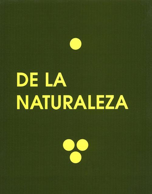 De la naturaleza. Catálogos museo Gustavo de Maeztu